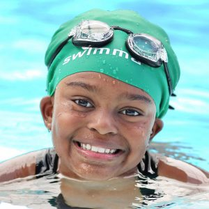 Afro-kids (Kids and Adults) Swimming Caps